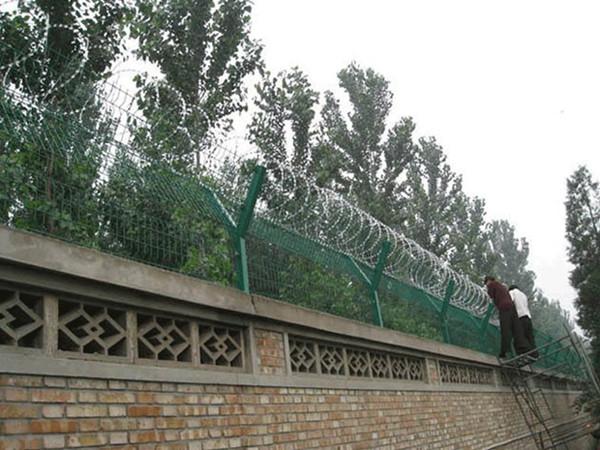 刺绳护栏网安装实例