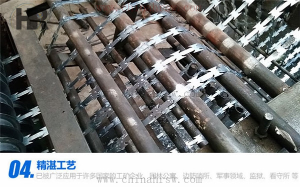 刀片刺网生产过程