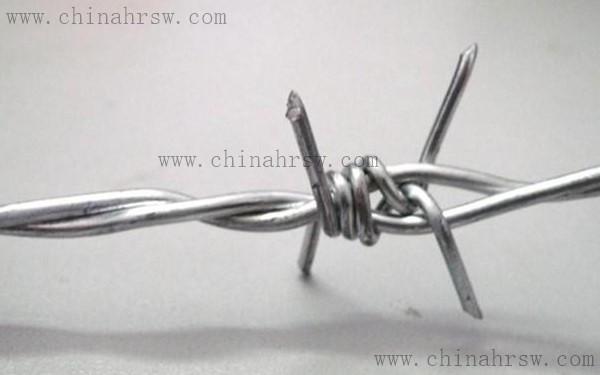 安装镀锌刺绳的区域